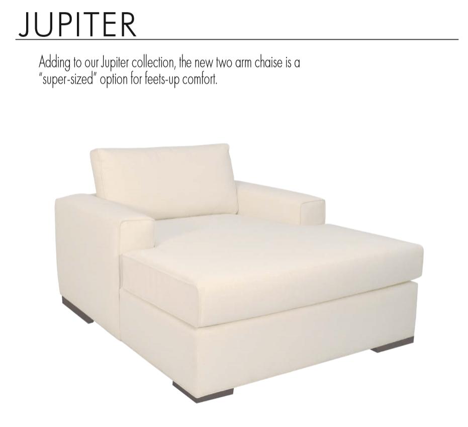Jupiter 2 Arm Chaise