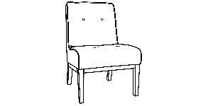 995 Armless Chairs