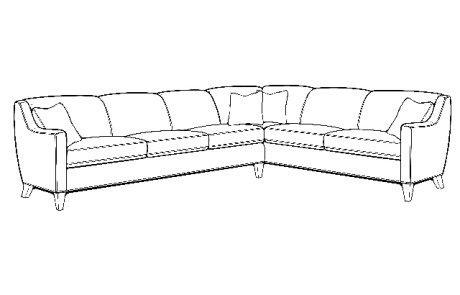 248 sectional - 2pc