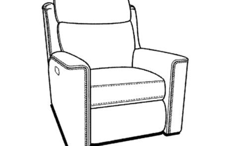 423 Headrest Recliner