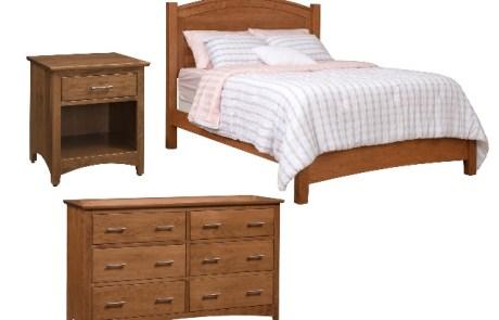 Barrington Queen Bed, Dresser, Nightstands