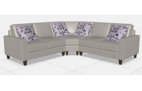Louise 3pc. Sectional #1407 series