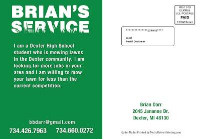 Brians Service EDDM Back img