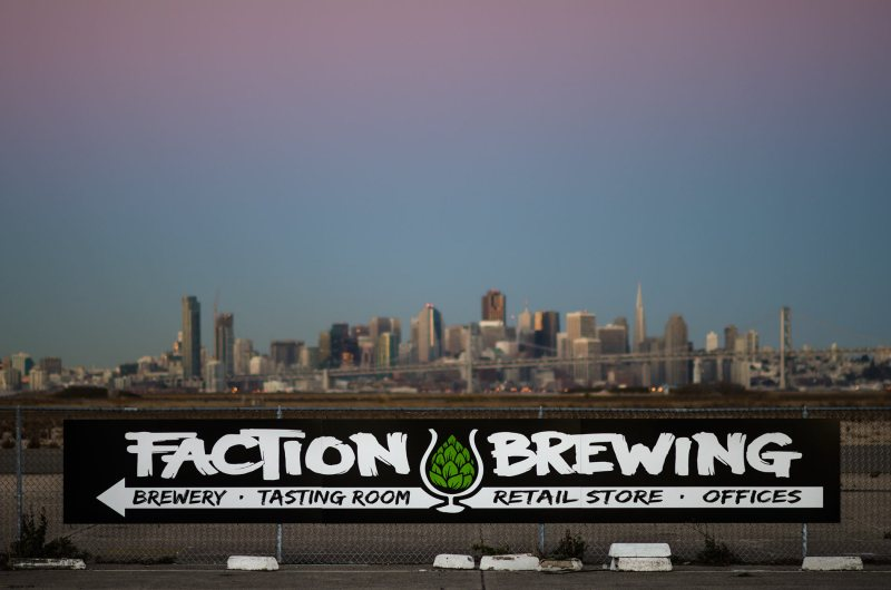 Sunrise at Faction Brewing