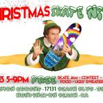 Repost! TOMORROW! Christmas SKATE NITE party contest is coming uphellip