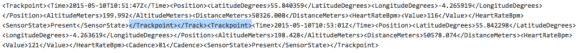 Corrupt Garmin code segment