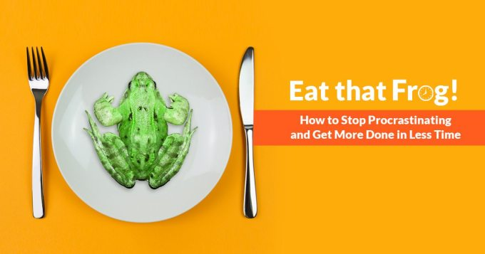 best book procrastination Eat That Frog