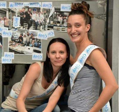Da sinistra: Lisa Castagna e Marina Carlà, due amiche per una brillante idea, quella della fish shopper