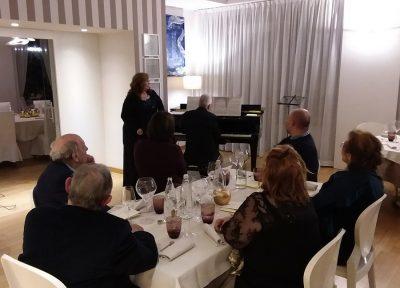 Il mezzo soprano Ester Piazza con il pianista Fabio Locatelli hanno eseguito brani del repertorio rossiniano
