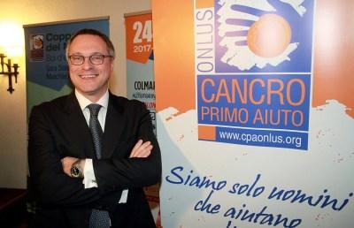 Carlo Bonomi Presidente di Assolombarda alla guida di Cancro Primo Aiuto Onlus