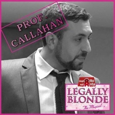 Riccardo Cosenza, veterano della compagnia monzese Dagli 8 agli Anta tra i protagonisti di Legally Blonde