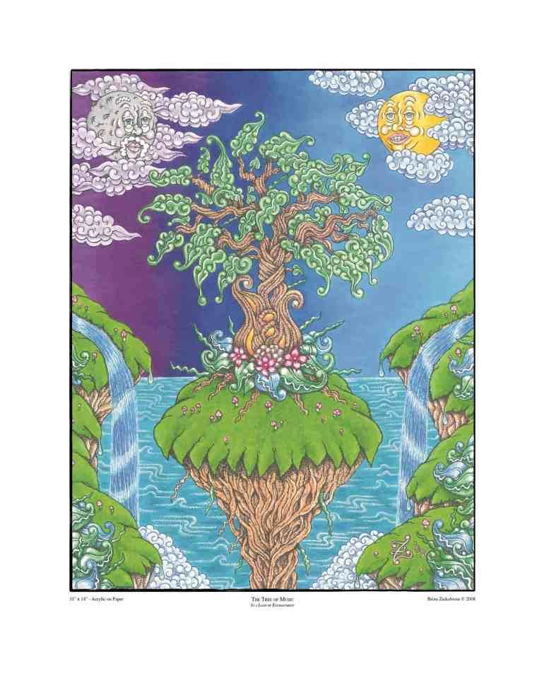 TreeMusic16x20