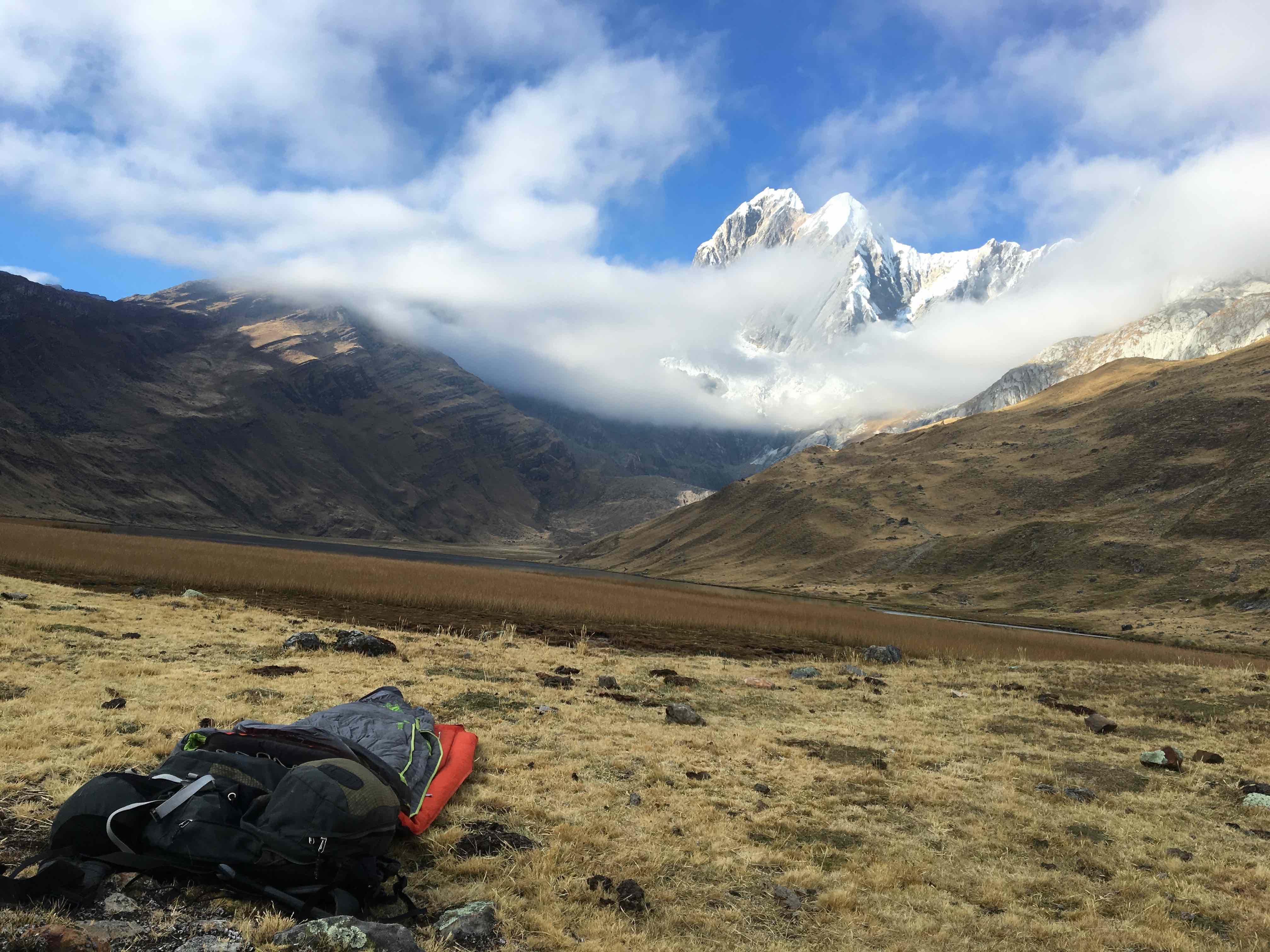 Brice Pollock » Solo'ing the Hard Cordillera Huayhuash – Peru