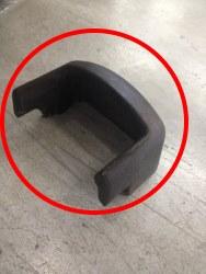 raschiare il braciere delle stufa a pellet con un raschietto metallico: la nettezza e trasparenza del vetro è fondamentale!