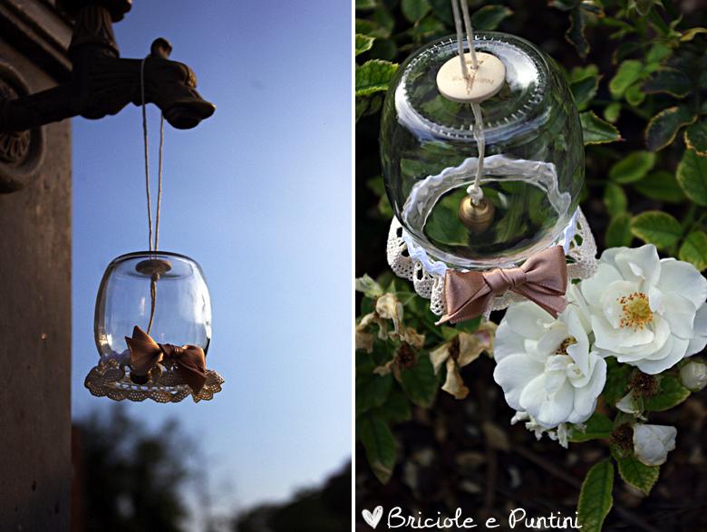 riciclo creativo - campanellino con vasetto di yogurt