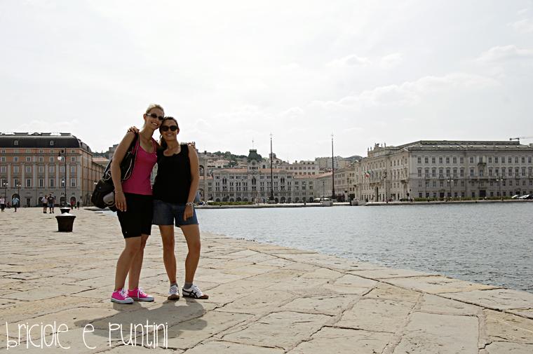 Trieste, Piazza Unità dal molo