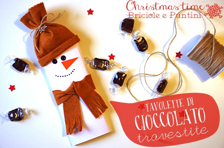 tavolette di cioccolato natalizie