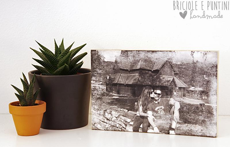 come trasferire una foto su legno - tutorial