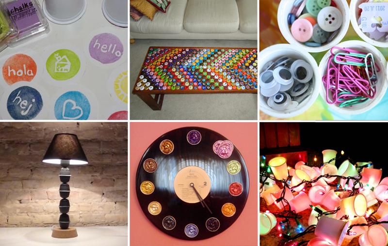 idee di riciclo creativo delle capsule del caffè