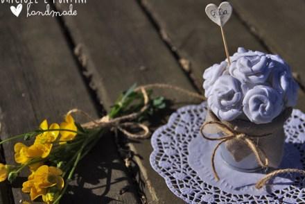 matrimonio handmade - segnaposti country chic