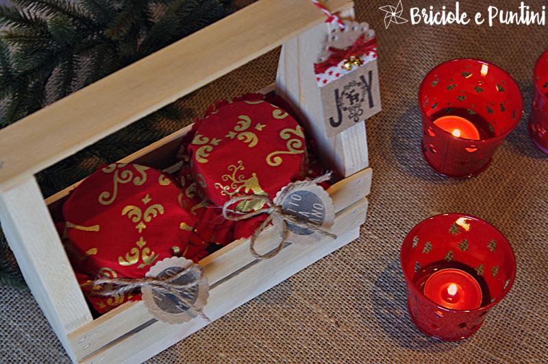 toolbox in legno fai da te porta marmellate per Natale