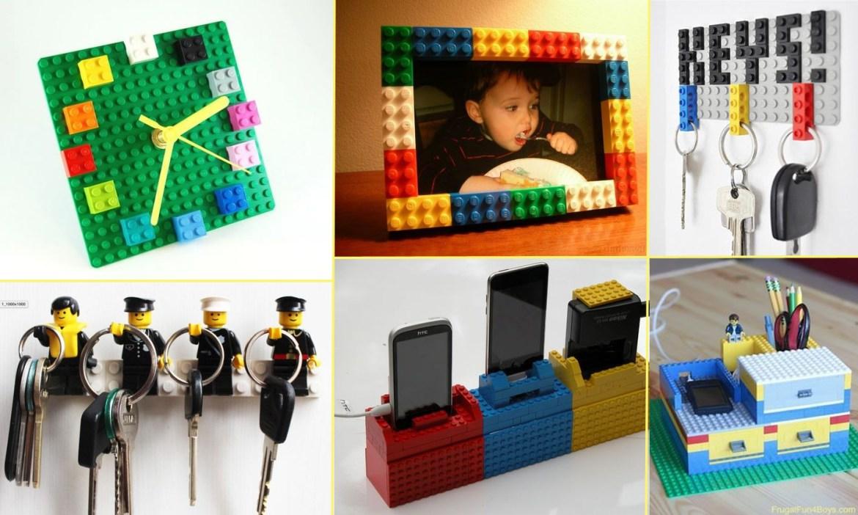 riciclo creativo lego - idee regalo festa del papà