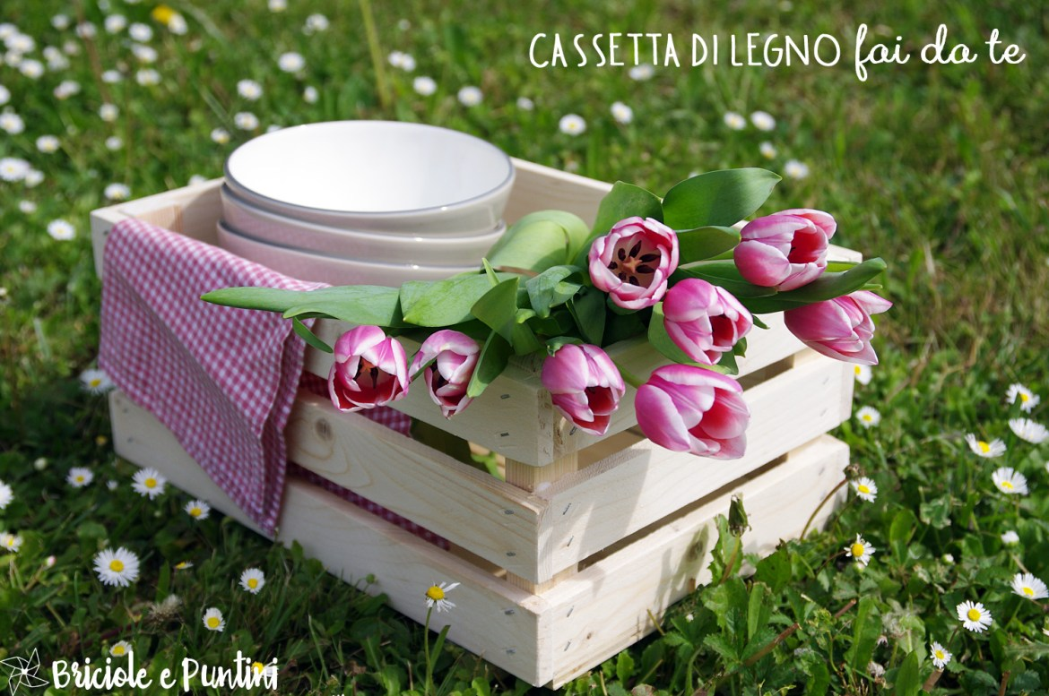 Tutorial home decor: cassette in legno fai da te con Dremel