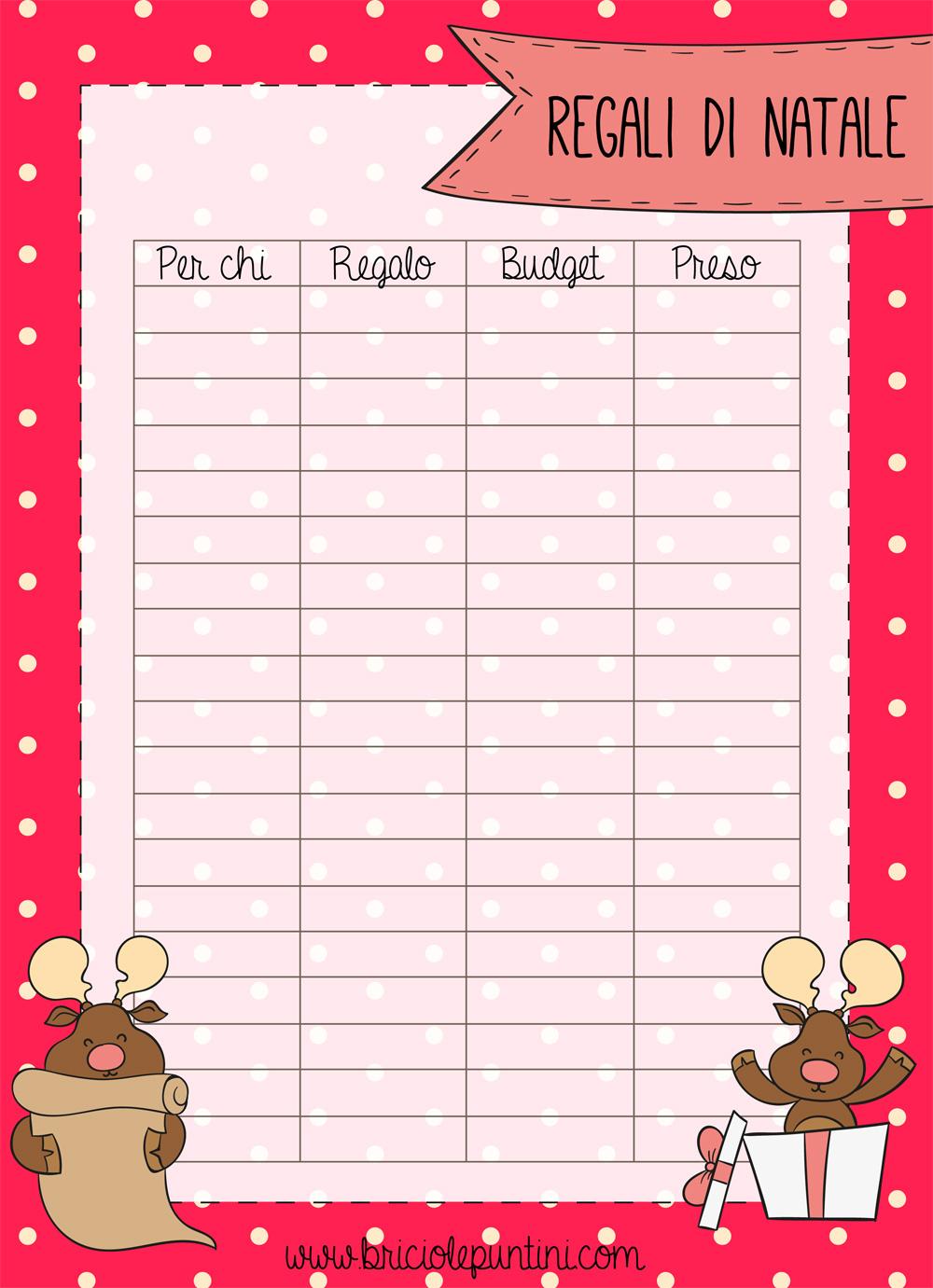 Regali Di Natale Per Zia.Annotare Le Idee Regalo La Lista Di Babbo Natale