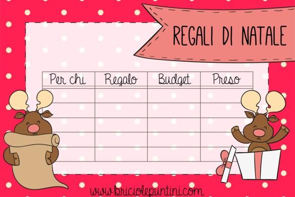 lista regali di Natale