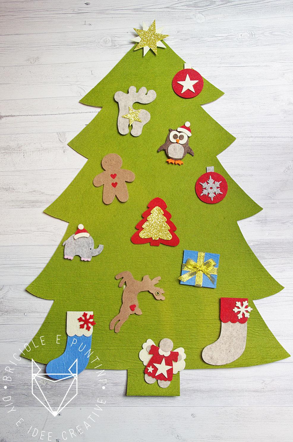 Noi vi mettiamo a disposizione tutte le parti che serviranno a realizzare un perfetto … Albero Di Natale Montessori Fai Da Te In Feltro Briciole E Puntini