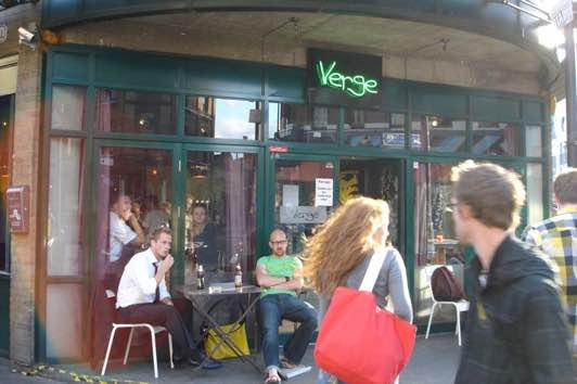 The Verge Bar Bethnal Green Road