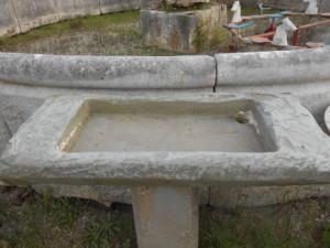 acquaio contadino in pietra serena di recupero