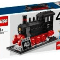 Lego 40370 Train 40th anniversary 非賣品包裝曝光