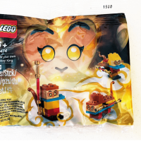 Lego 40474 Build your own Monkey King 悟空72變 Polybag 曝光