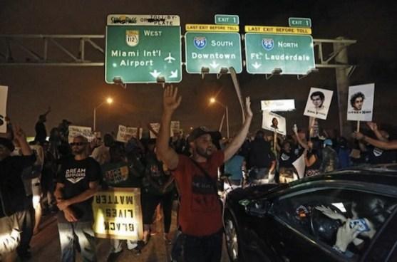 Miami-protest