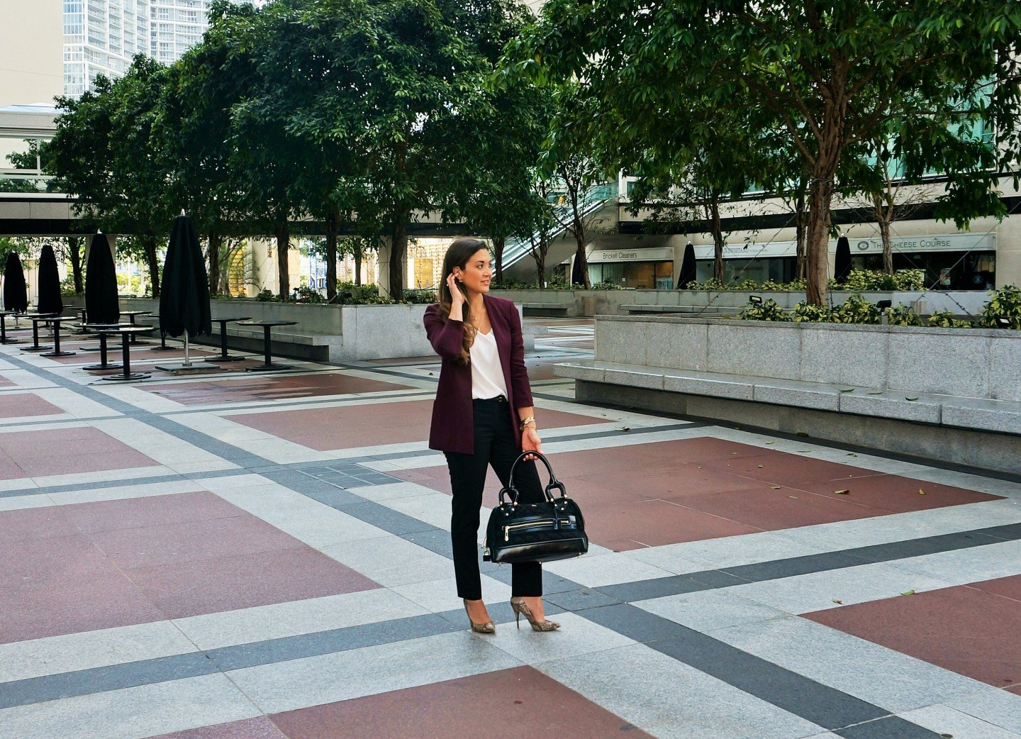 Outfit Inspirations - Color Blocking - Brickellista Files