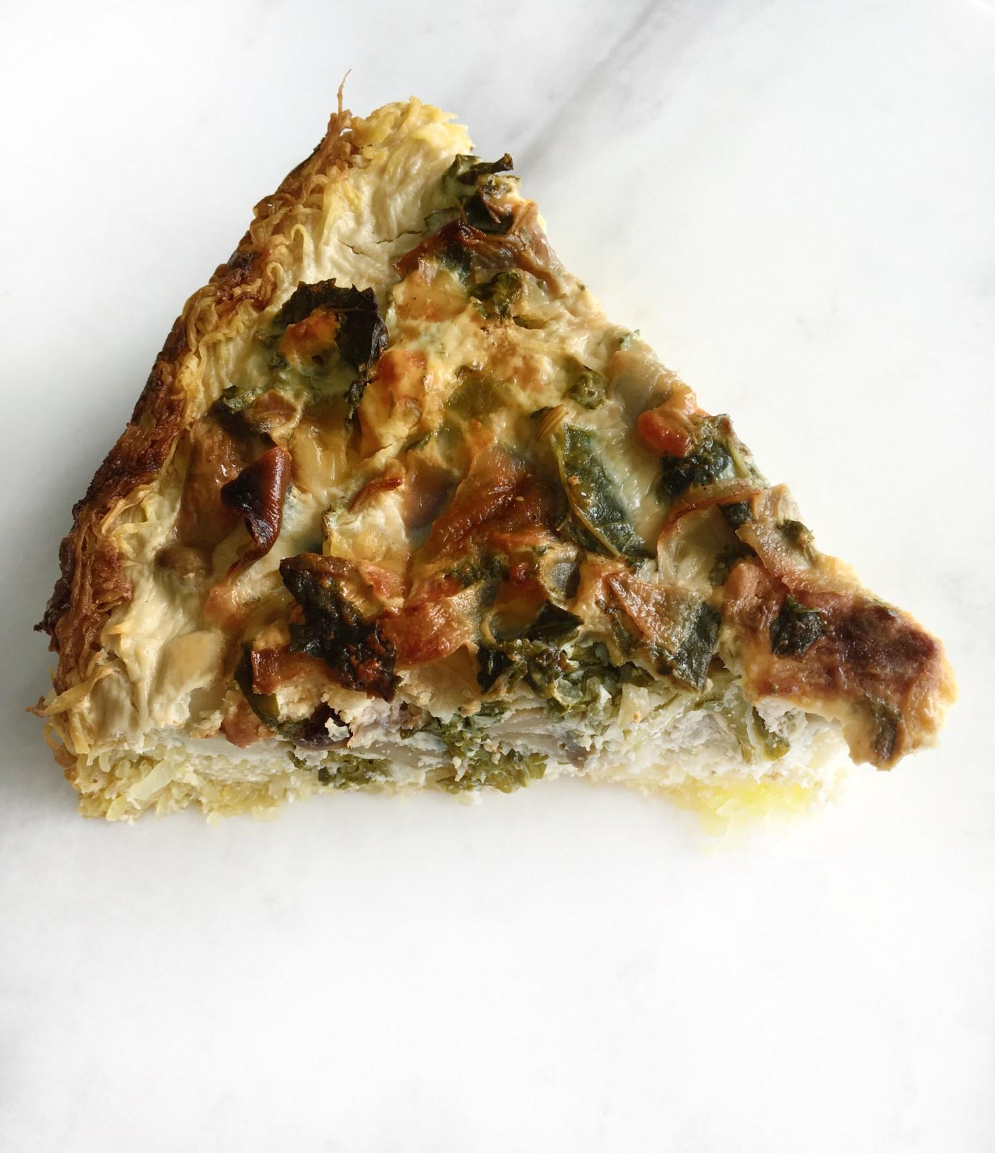 Slice of Gluten-Free Quiche