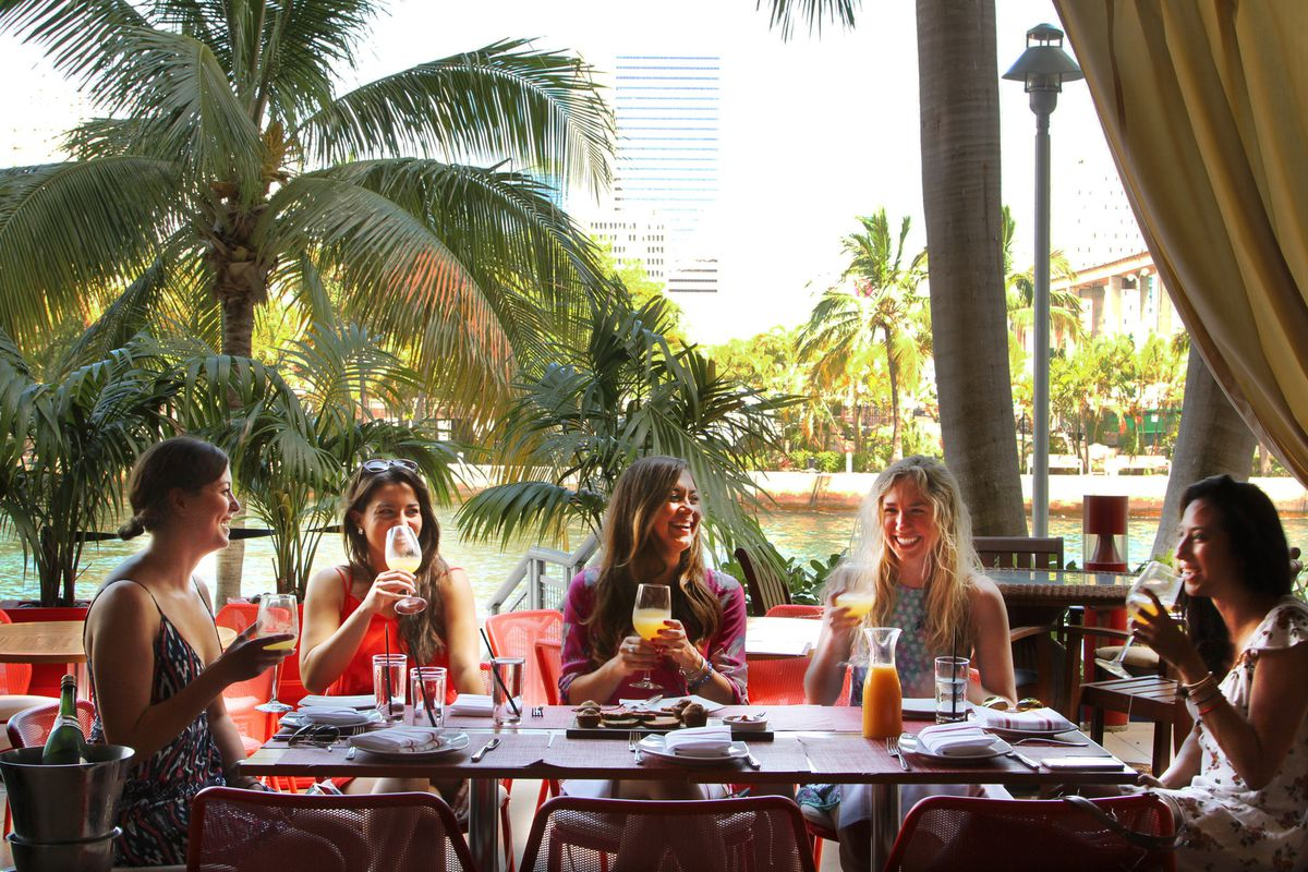 Best Outdoor Brunch Spots in Miami with a Map