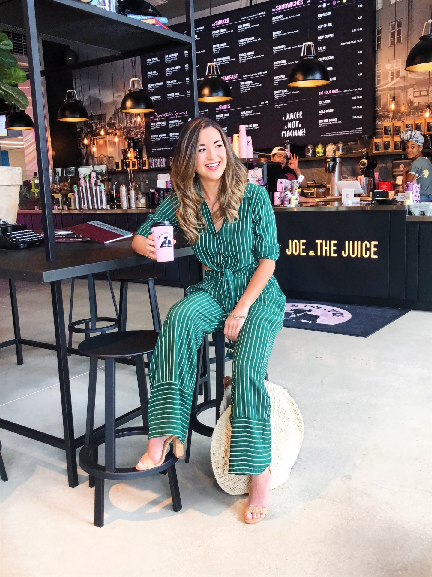 What to Do in West Palm The Brightline station in West Palm Beach is conveniently located in City Place, so there's plenty to do! We decided to head over to Restoration Hardware to check out their restaurant and enjoy a day of window shopping.