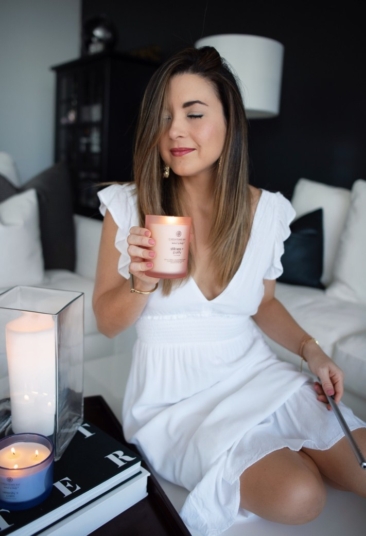 How to Relax and Create Intention with Scent and Glimmering Candles