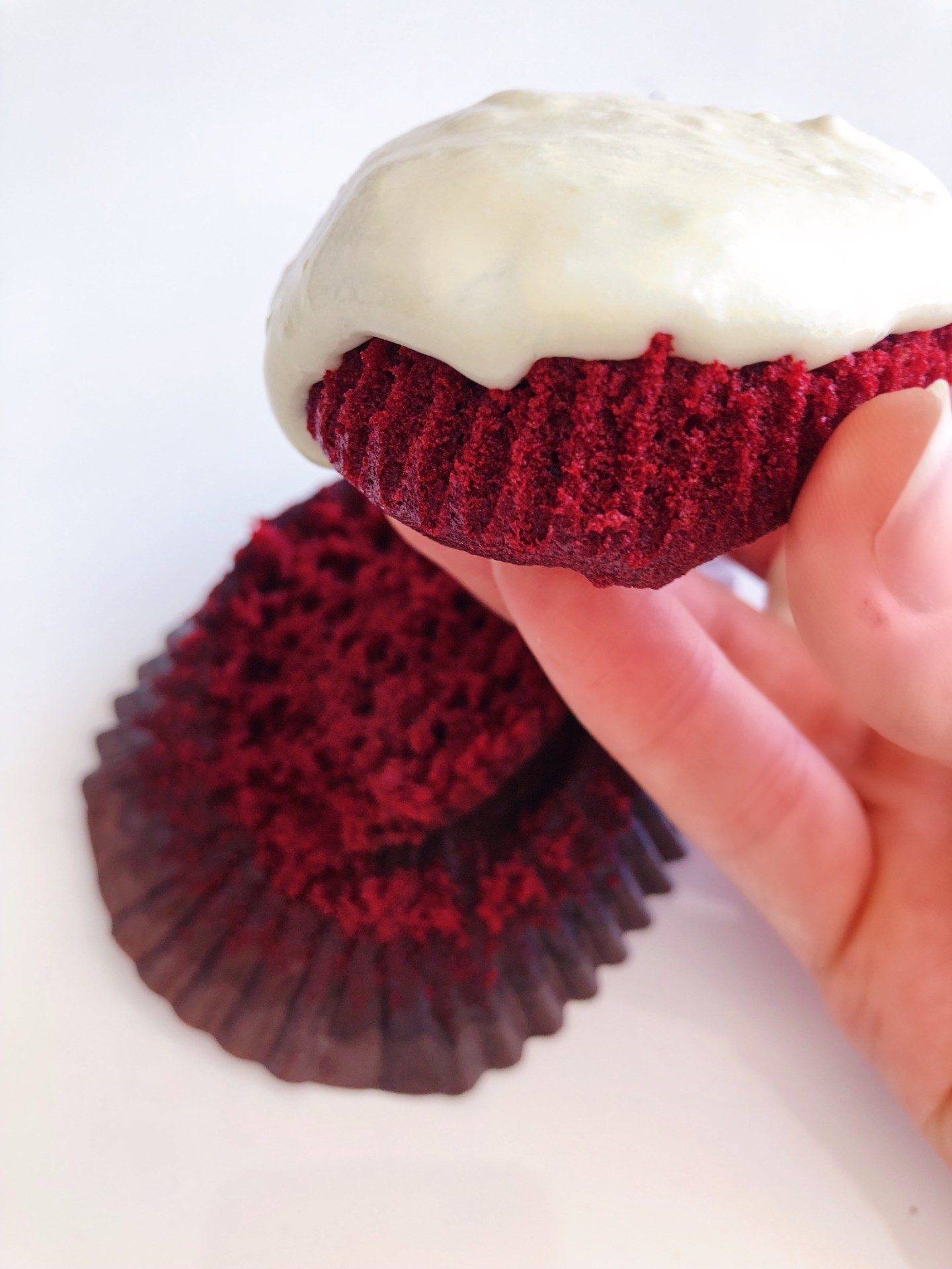 The Perfect Red Velvet Cupcakes