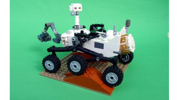 Build Your Own LEGO Mars Science Laboratory Rover MOC