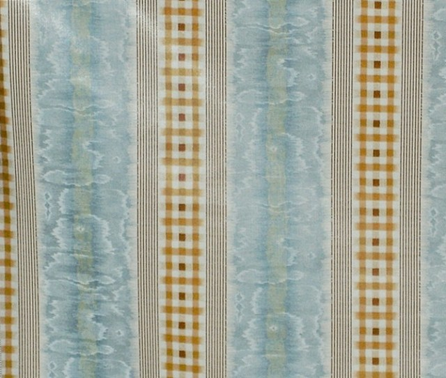 Sale Clarence House Fabric Retro Plaid Moire