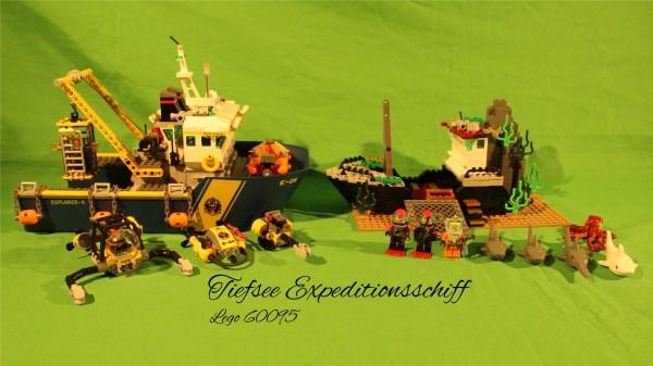 Lego 60095 - Tiefsee Expeditionsschiff