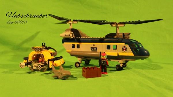 Lego 60093 - Tiefsee Hubschrauber
