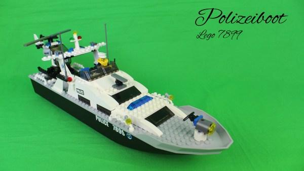 Lego 4899 - Polizeiboot