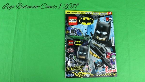 Lego Batman Comic 1 - 2019