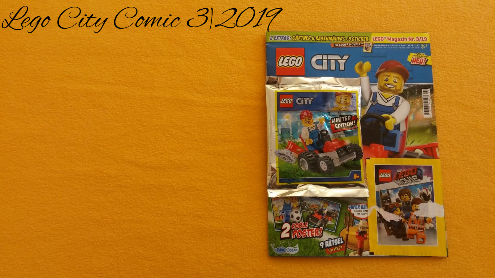 Lego City Comic 3 2019 Bricks4city