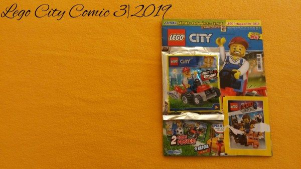 Lego City Comic 3 - 2019