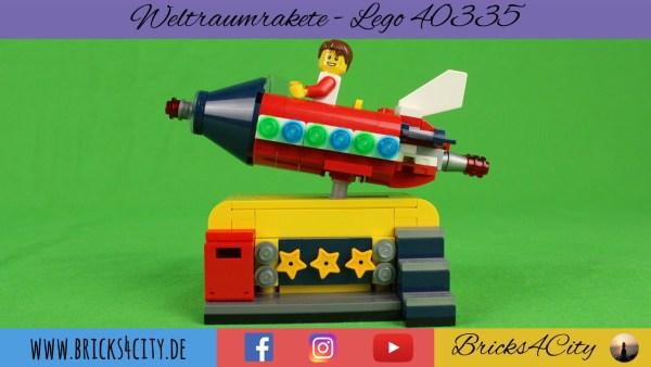 Lego 40335 - Weltraumrakete